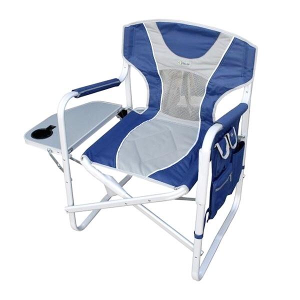 coast directors chair blue grey