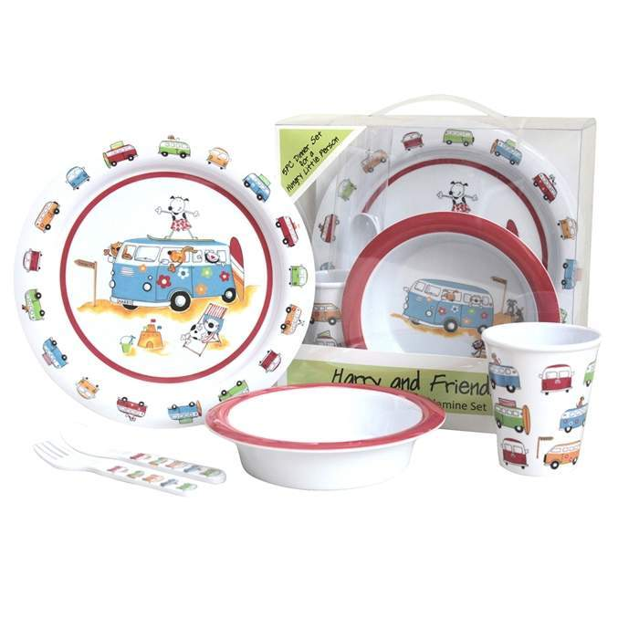 sc 1 st  RV Super Centre & Flamefield Harry and Friends Melamine Childrens Dinner Set