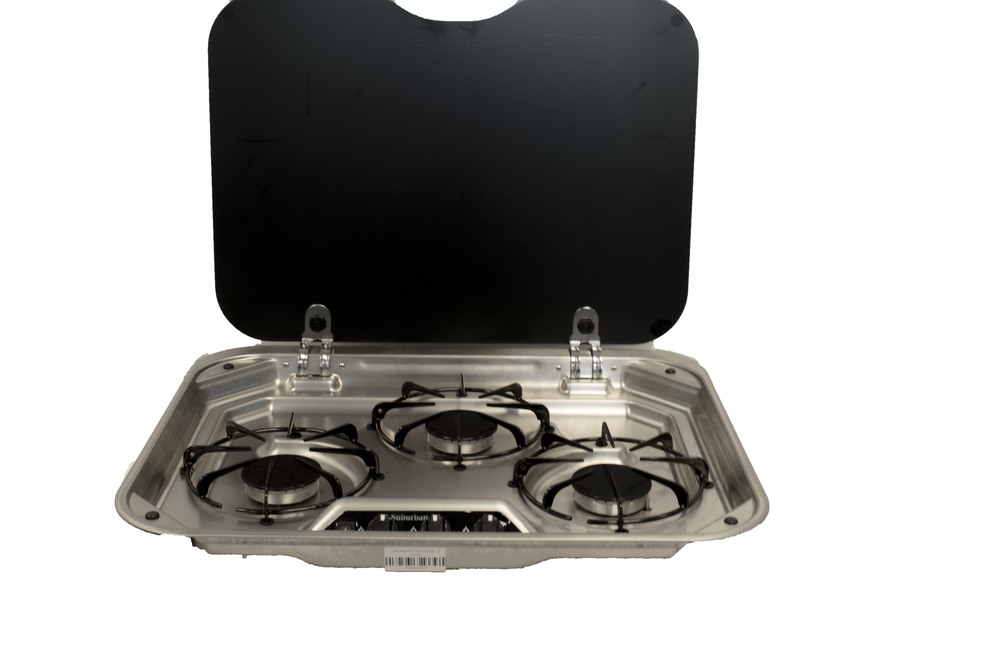E Cooktops Find The Best Gas Cooktop For Your Boat Or Rv Dometic >> Suburban Rv Gas Cooktop 3 Burner