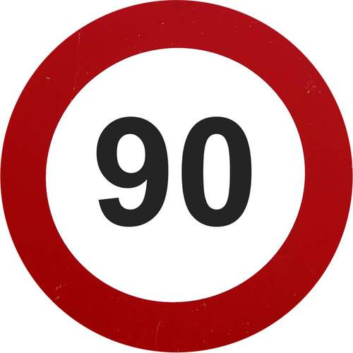 NZMCA Max Legal Speed 90 Sign***