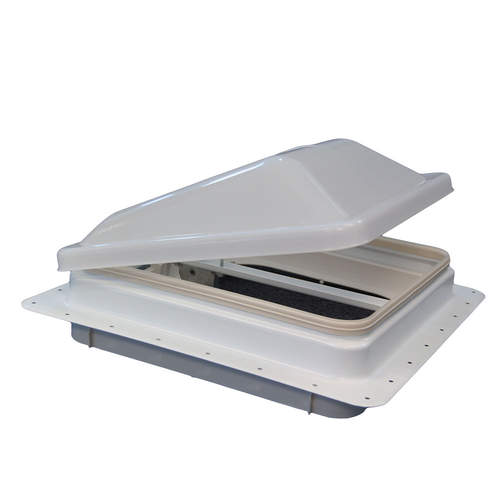 "Ventline White Lid 14"" x 14"" Roof Vent"