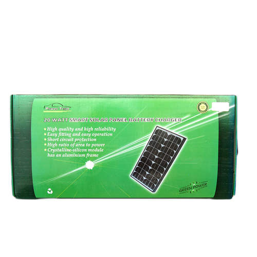 Power Train Portable w/Controller 20w Solar Panel