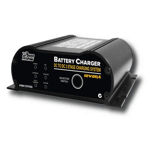 Power Train Battery 20amp Battery Charger