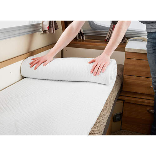 Duvalay Memory Foam Mattress Topper - 66cm x 5cm
