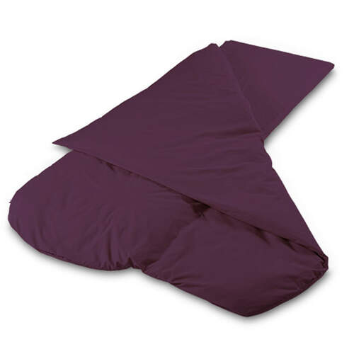 Duvalay Luxury Sleeping Bag - Plum 77cm