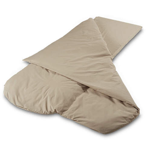 Duvalay Luxury Sleeping Bag - Cappuccino 66cm
