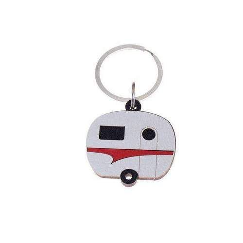 Keepers Caravan Red Keyring