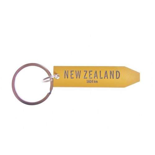Keepers New Zealand Sign Keyring