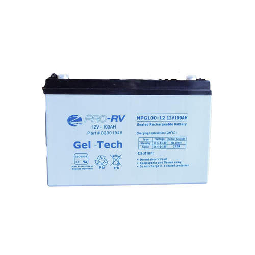 Pro V 12V 100AH Gel Battery