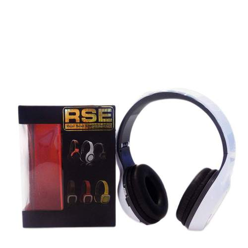 RSE Bluetooth FM Headphones - White***