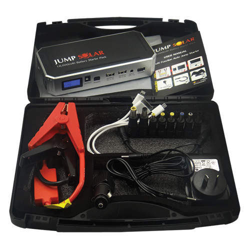 Jump Solar Starter Pack Chargable Battery