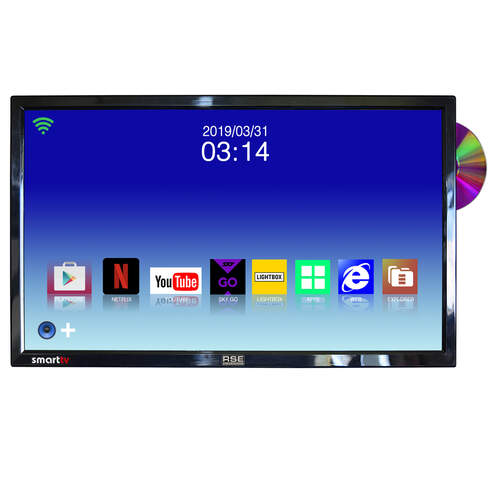 "RSE 22"" Android Smart TV/DVD with Satelite Receiver"