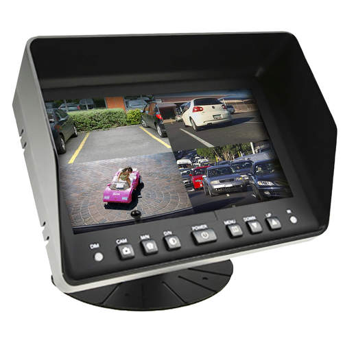 "RSE  7"" Quad Monitor"