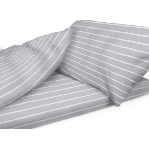 Duvalay Luxury Sleeping Bag - Gray Stripe 66cm