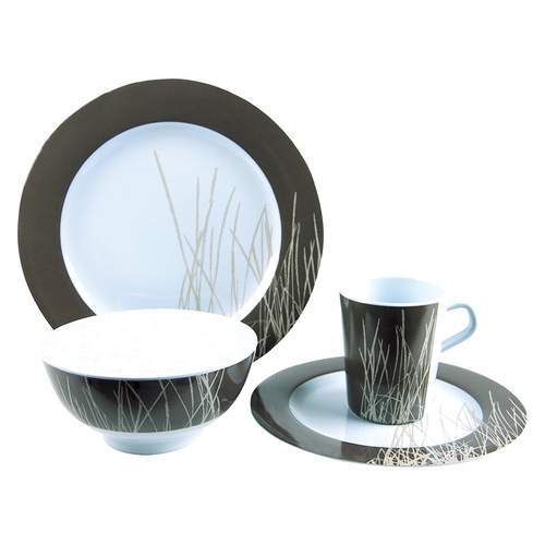 Coast Melamine 16pc Dinner Set - Sahara