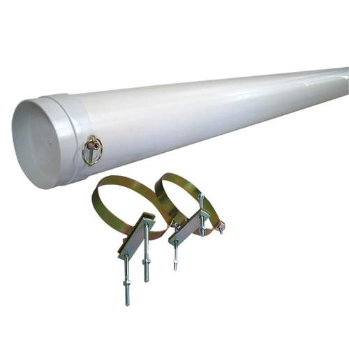 Coast Pole Carrier with Mounting Brackets - 200cm x 15cm