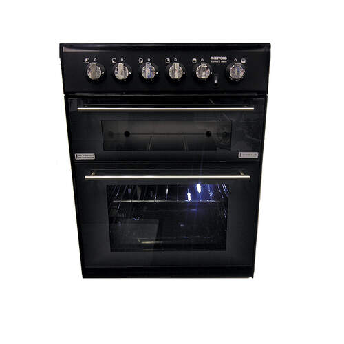 Thetford MK3 4 Burner Oven/Grill - Carbon (incl seal and light)