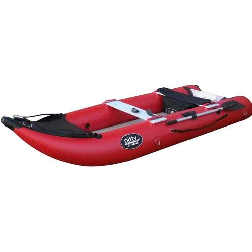 Nifty Inflatable Boat - Red