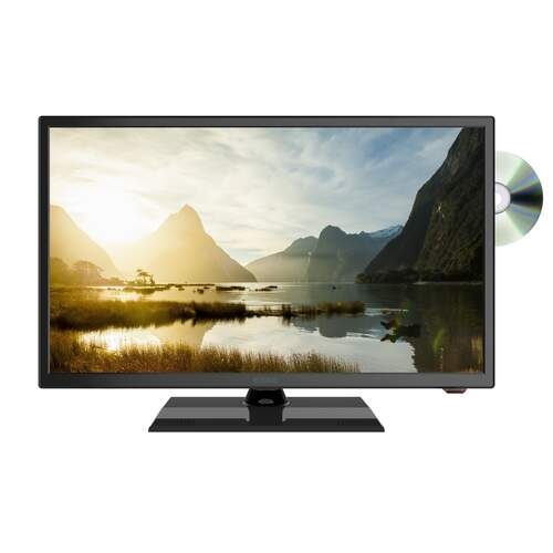 "Evoke 24"" Television With Built In DVD Player"