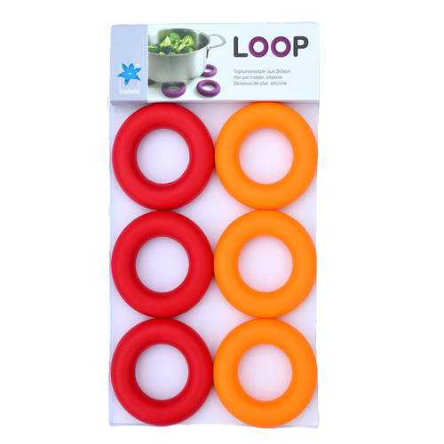 Loop Purple 6 Egg Cups And/Or Pot Stands