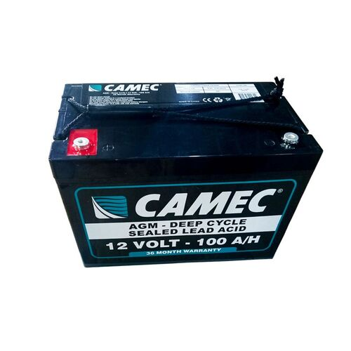 Camec 12V 100AH Sealed Lead Acid  Battery
