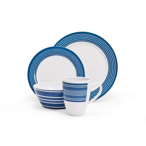 Campfire Nautical16pc Dinner Set