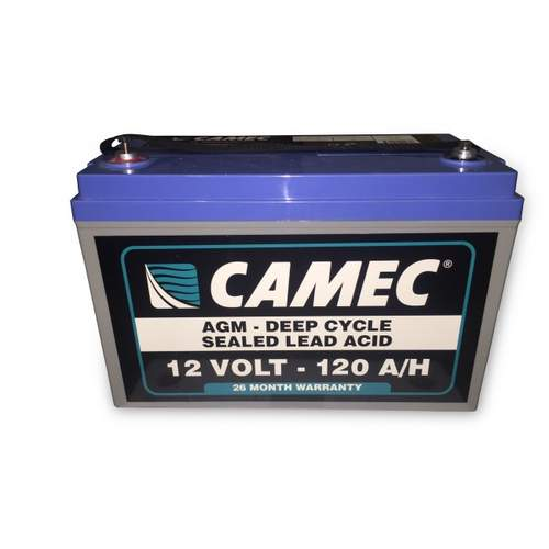 Camec 12V 120AH Sealed Lead Acid  Battery