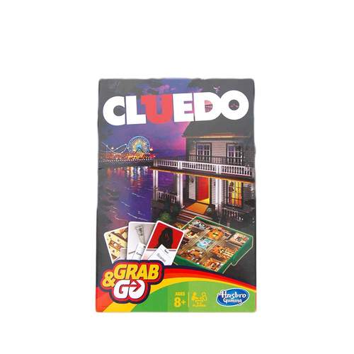 Grab and Go Cluedo Travel Games***