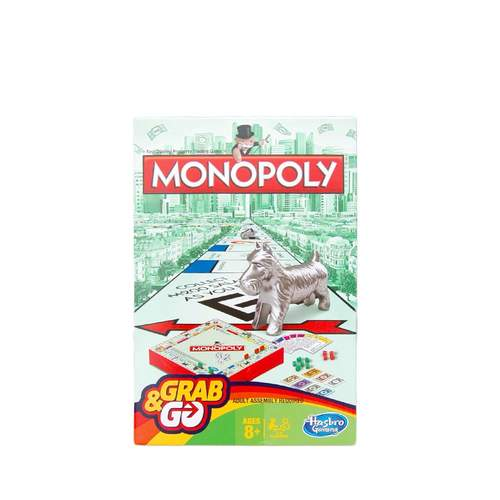 Grab and Go Monopoly Travel Game***