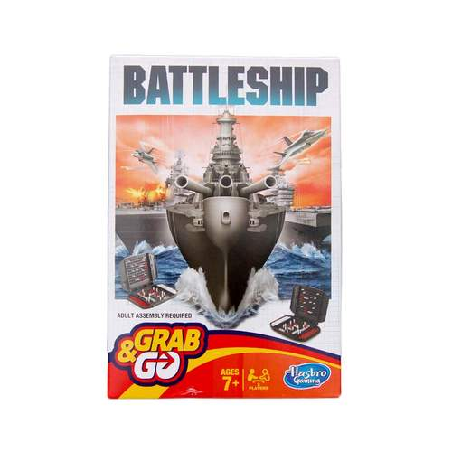Grab and Go Battleship Travel Game***