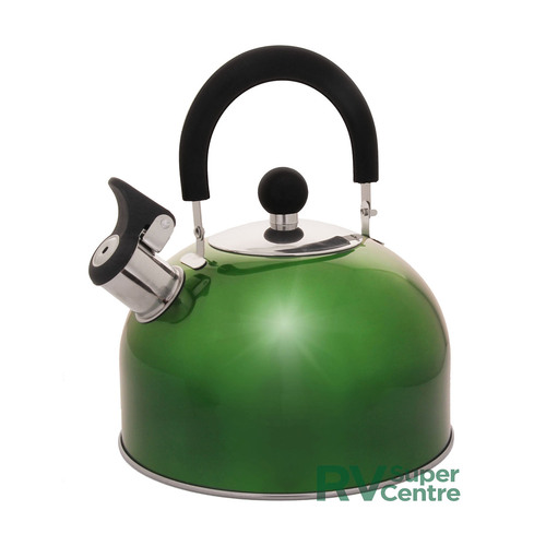 Prima Green Whistling 2.5L Kettle