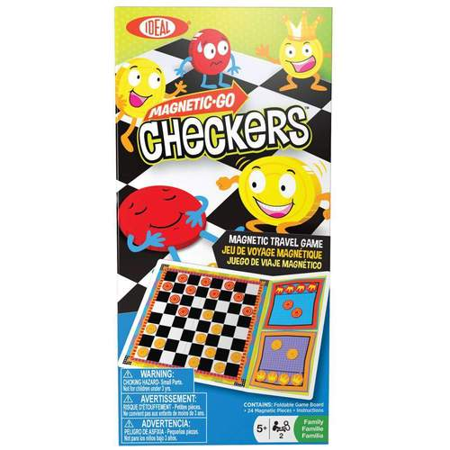 Ideal Magnetic Checkers Game***