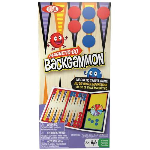 Ideal Magnetic Backgammon Game***