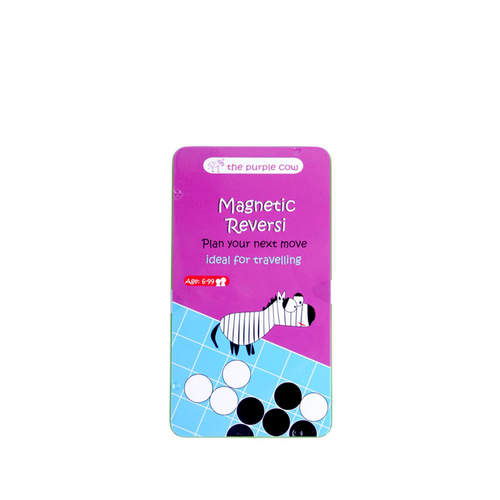 Purple Cow Reversi Magnetic Travel Game