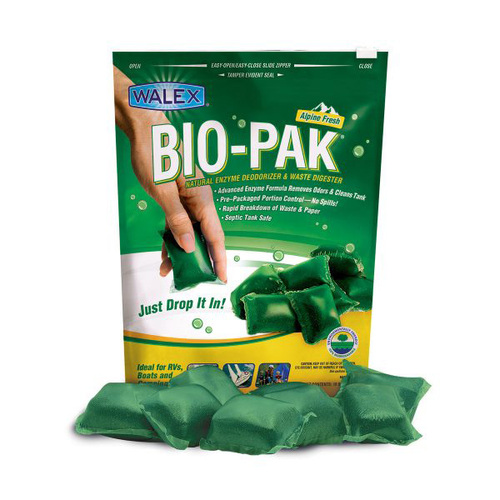 Walex Bio-Pak 10 Sachet Toilet Additive