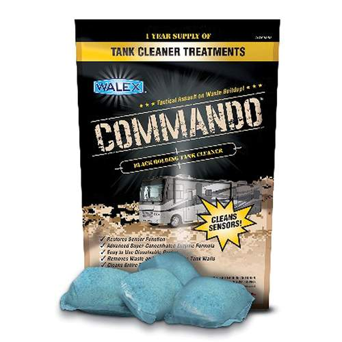 Walex Commando Tank Cleaner (4pk)