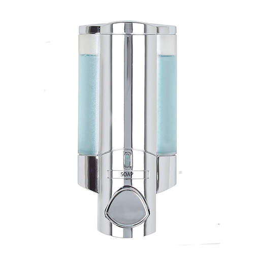 Aviva Single Chrome Shower Soap Dispenser