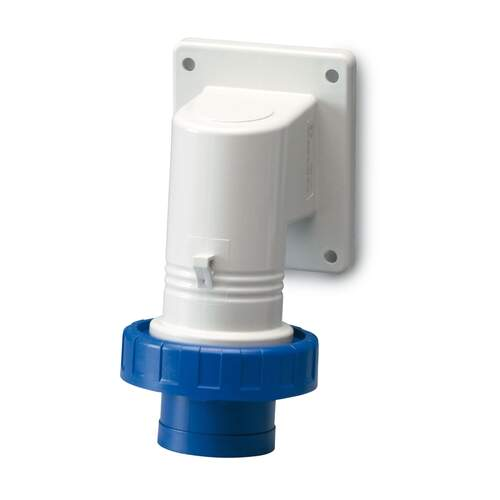 Electrex Angled 16A 230v Exterior Inlet