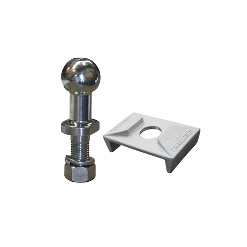 "Trailparts High Rise 50mm x 1"" - 3500kg,  incl zinc plate Towball Kit"