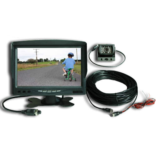 "Power Train Large 7"" Monitor and Reversing Camera"