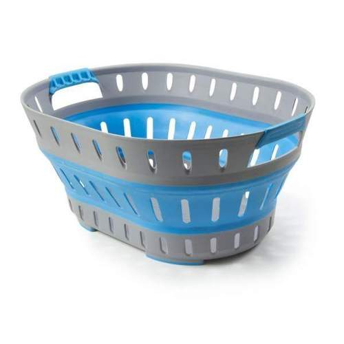 Companion Pop Up Blue Laundry Basket