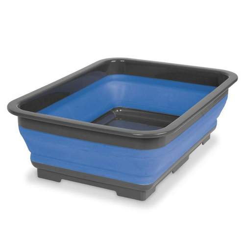Companion Blue and Grey Pop-up 10L Tub