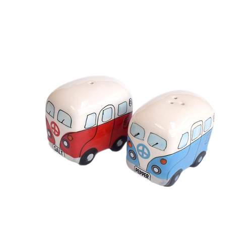 Dakota Kombi Salt and Pepper - Red and Blue