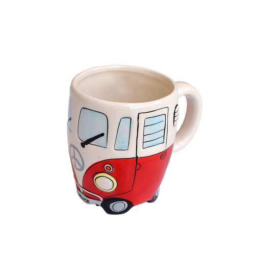Dakota Red Motorhome Mug