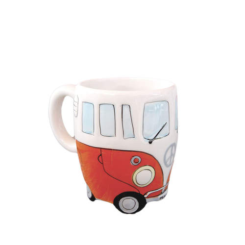 Dakota Orange Motorhome Mug