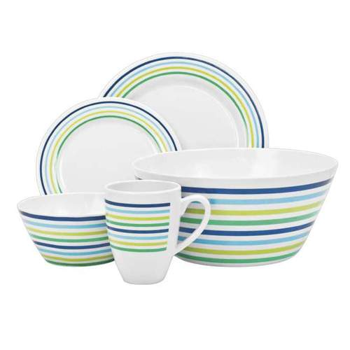 Campfire Sea Breeze 16pc Dinner Set