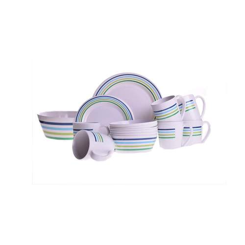 Campfire Sea Breeze 25pc Dinner Set