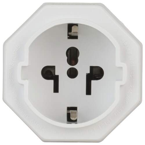 PowerTech  NZ Travel Adaptor for Europe and Asia Devices