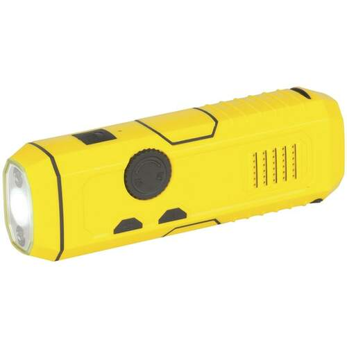 Techlight Dynamo 4-in-1 Radio Torch and Emergency Charger