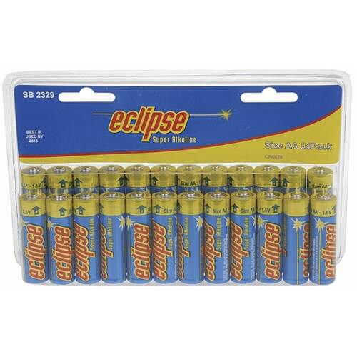 Eclipse AA Alkaline Batteries - 24pk
